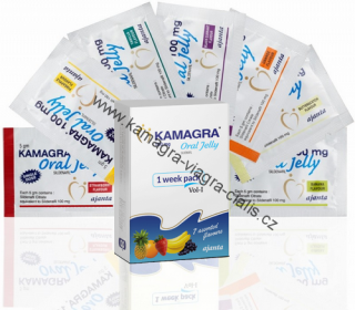 Kamagra Oral Jelly 100mg: cena za 5ks balení